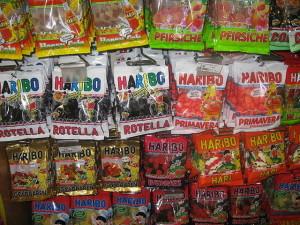 Fruchtgummi und Lakritz von Haribo