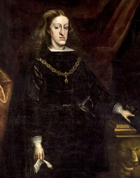 Porträt von Karl II. von Spanien