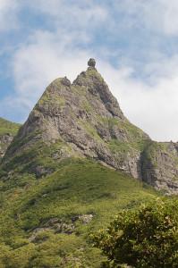 Der zweithöchste Berg der Insel