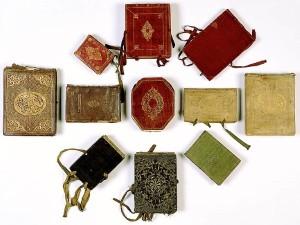 Studenten-Stammbücher in unterschiedlichen Formen