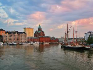 Finnlands Hauptstadt Helsinki